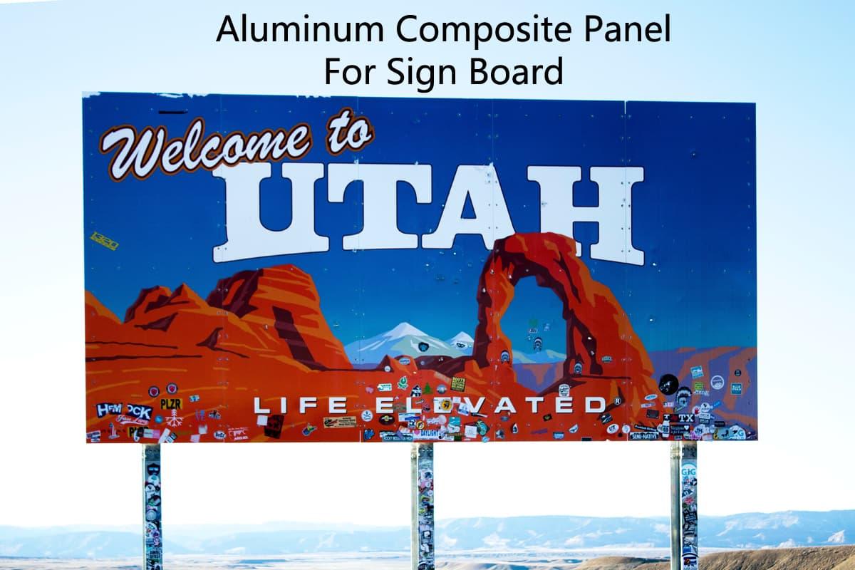 Aluminum Composite Panel For Sign Board